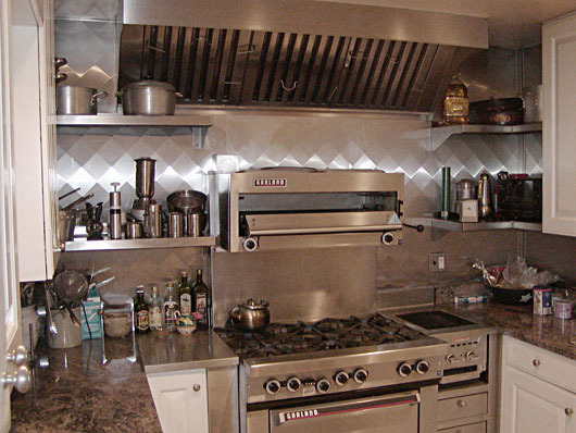 Quilted Stainless Steel Panels, Shelves, and Range Hood : quilted stainless - Adamdwight.com