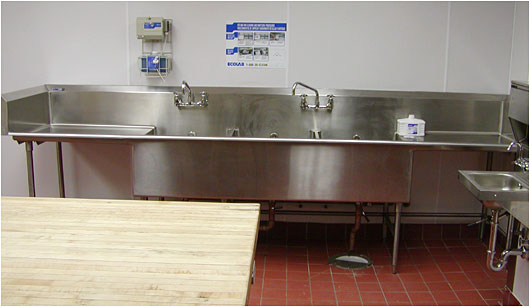 Food Service Sinks : Sink - Stainless Steel Sinks for Hospitals and Commercial Food Service ...