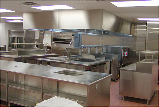 Restaurant Kitchen Counter custom stainless steel for commercial kitchens - counters with