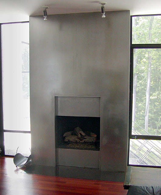 Fireplaces: Aluminum, Stainless and Copper